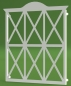 "Preview: Fenstergitter ""Ornament gebogen Landhaus-Stil"""