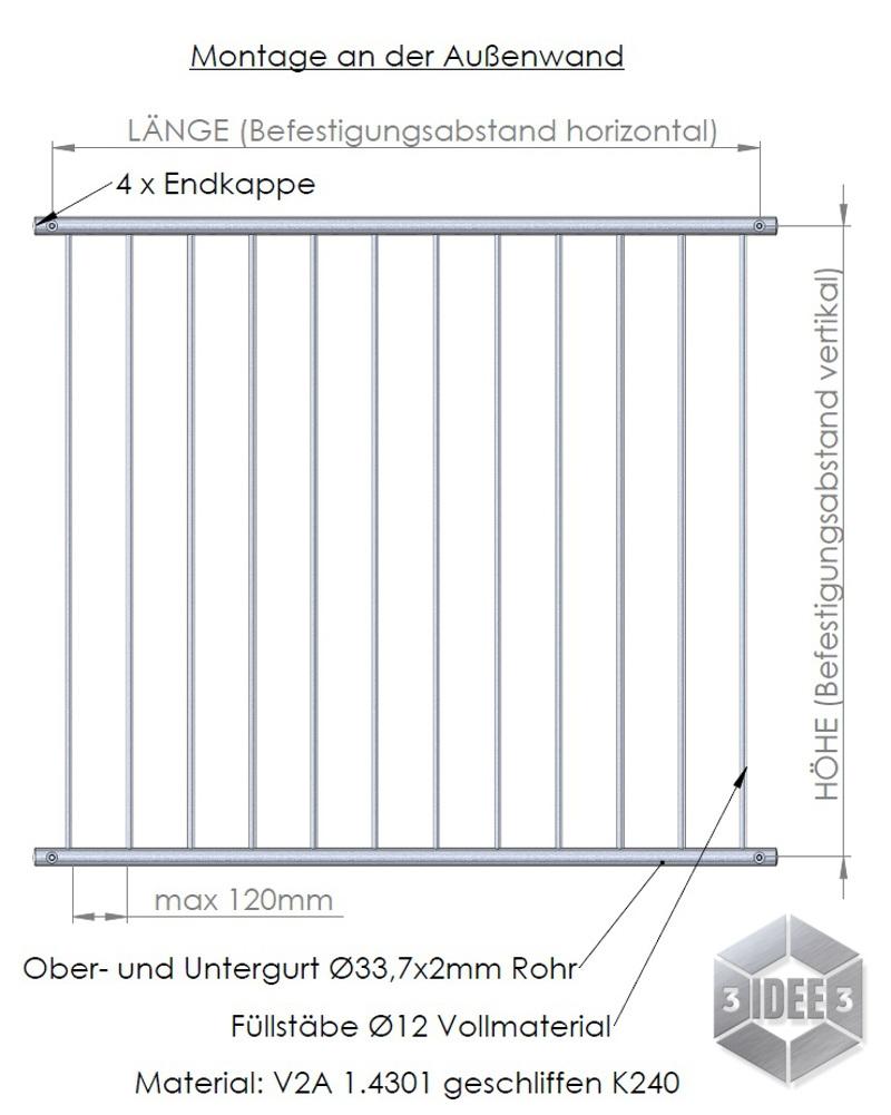 Handlaufe Gelander Aus Edelstahl Made In Germanyedelstahl
